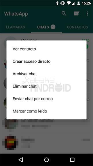 Whatsapp Marcar Leido