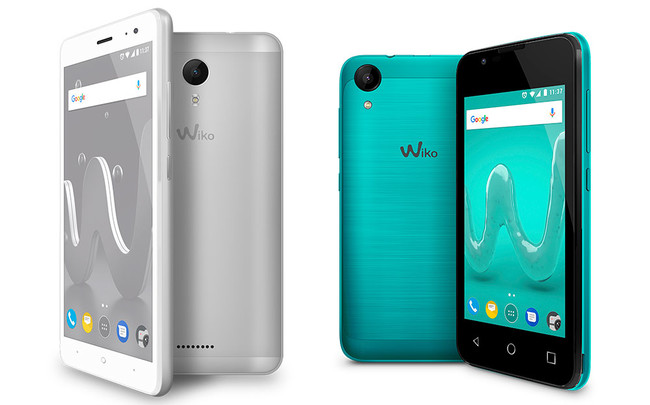 Wiko Jerry 2 y Sunny 2
