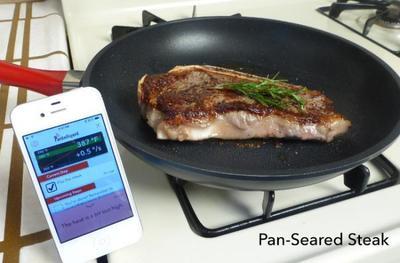 Pantelligent, la sartén bluetooth para cocineros inexpertos (o muy meticulosos)