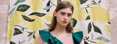 Uterqüe avanza un verano repleto de prendas de lino y favorecedores bañadores