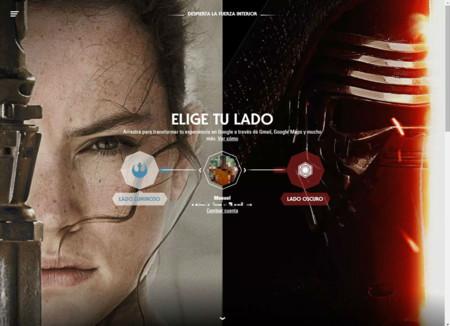 Google te permite personalizar sus aplicaciones con Star Wars