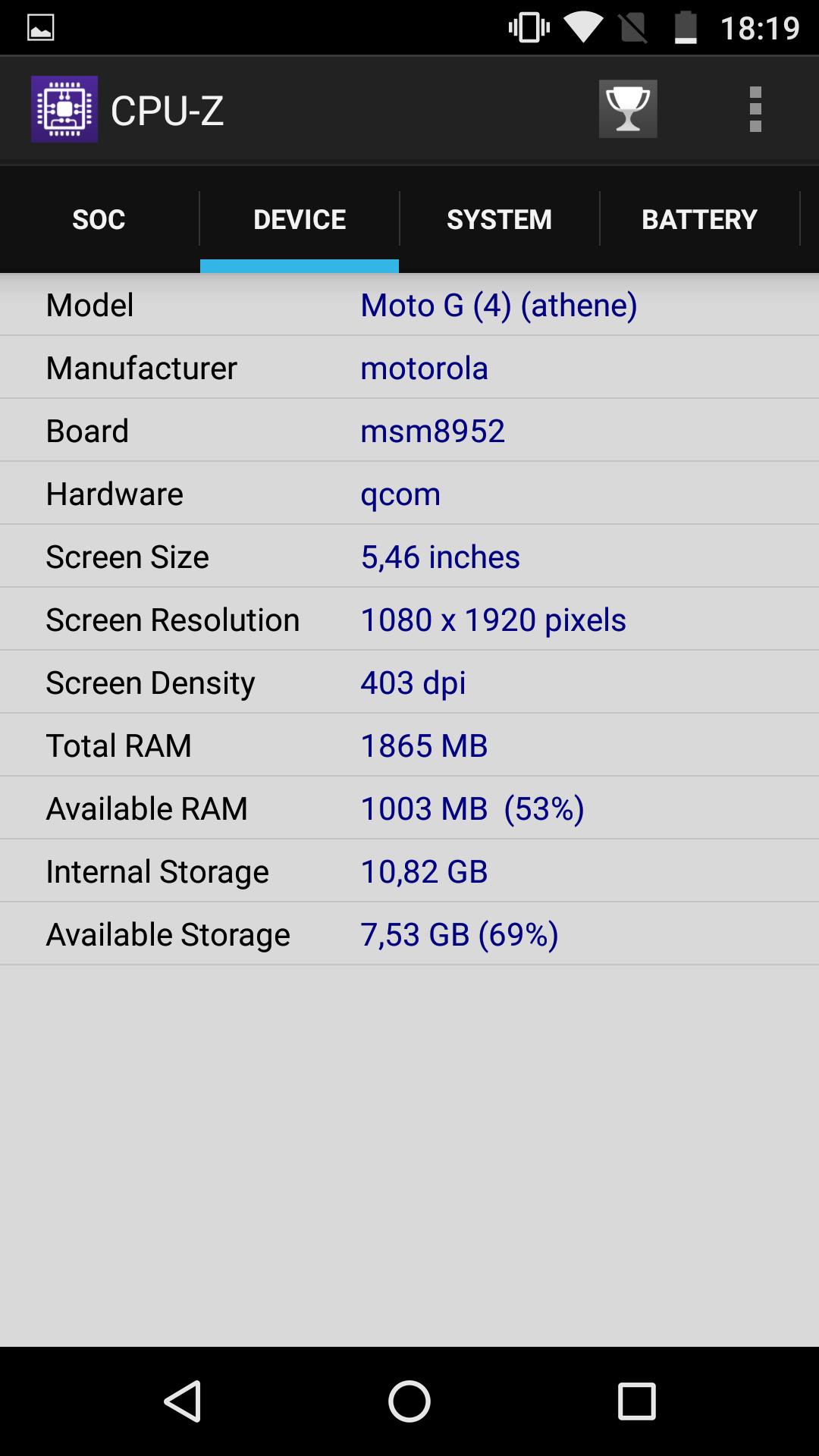 Foto de Moto G4, benchmarks (28/30)