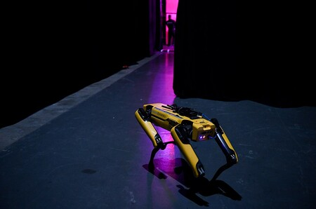 Boston Dynamics perro robot policia