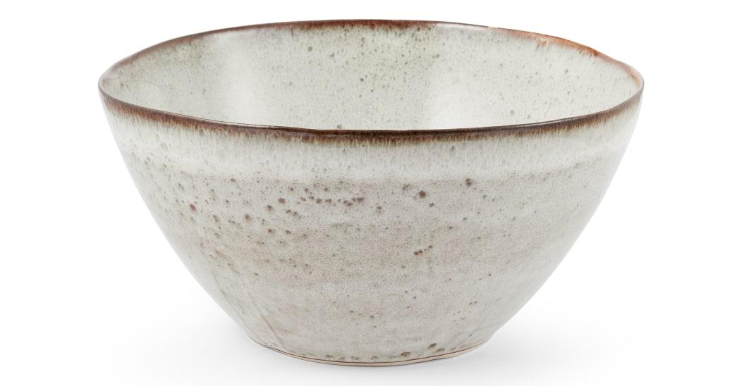 Bol de cerámica esmaltada