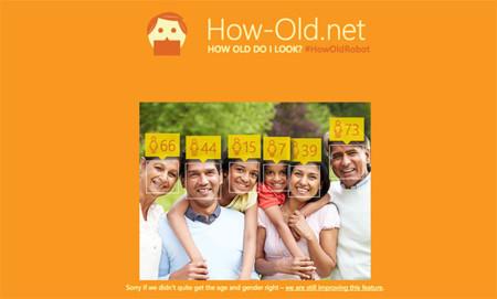 La web que dice la edad a partir de la foto o el juego del que Microsoft no ha querido aprovecharse