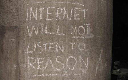Internet is a series of blogs (LVI)
