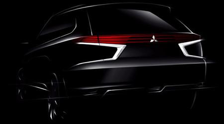 Mitsubishi Outlander PHEV Concept-S, para París