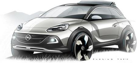 Opel Adam Rocks, el concept que anticipa el crossover del Adam