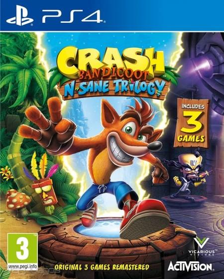 Crash Bandicoot Remaster Nombre Provisional 3727501
