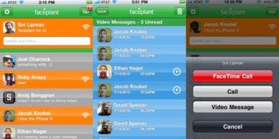 FacePlant, complemento a FaceTime para saber qué contactos están conectados