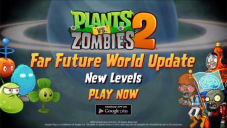 """Plants vs. Zombies 2 para Android añade el mundo """"Futuro lejano"""": nuevos niveles, plantas y zombis"""