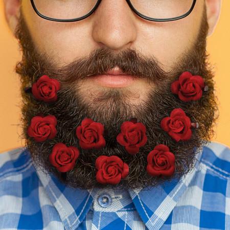No regales flores en San Valentín, mejor lúcelas en tu barba con el kit de rosas de FIREBOX