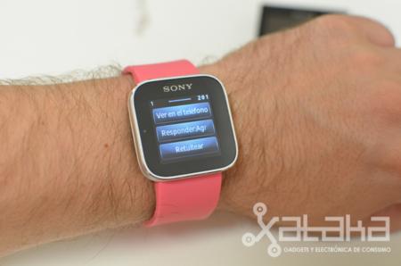 Sony SmartWatch responder