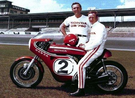 Honda CB 750 réplica de Dick Mann