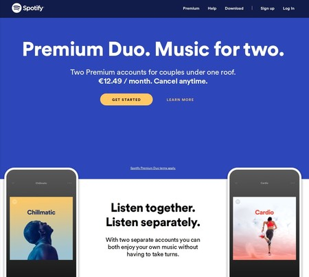 Spotify Duo Mix Precio