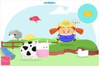 Mico y Mica, una entretenida aplicación de puzzles para los más peques