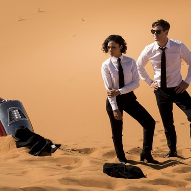 'Men in Black: International' demuestra que la franquicia funciona sin Will Smith en un reboot falto de riesgo