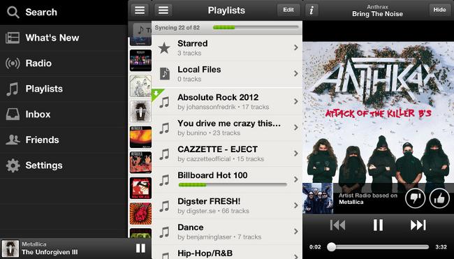Spotify para iOS 0.6
