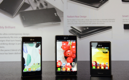 Optimus L Series II en familia