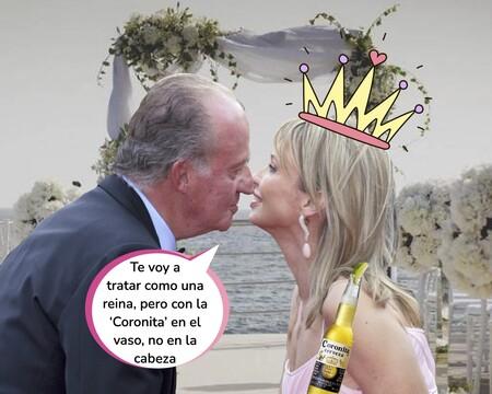 Juan Carlos I hincó rodilla (aprovechando una caída) y pidió matrimonio a Corinna antes de abdicar por la puerta grande