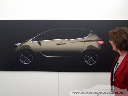 Teaser del Opel Meriva Concept