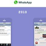 En esta web puedes ver como han evolucionado algunas de las apps más populares a través de los años