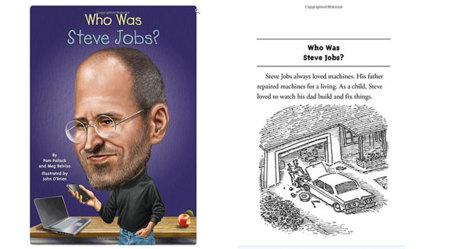¿Quién fue Steve Jobs? un libro para niños sobre el co-fundador de Apple