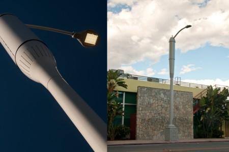 Las farolas LED de Los Angeles darán también cobertura 4G