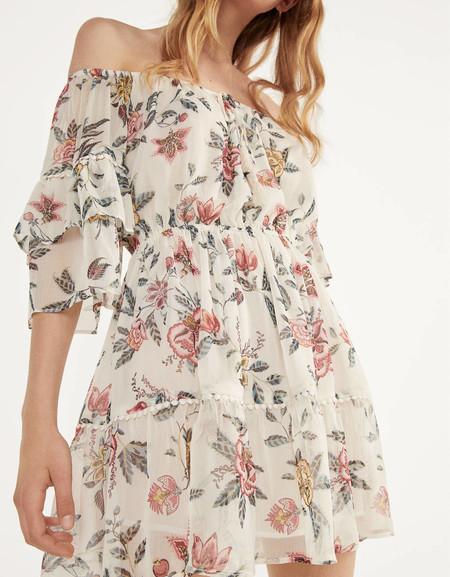 Vestido Escote Bardot Low Cost 04