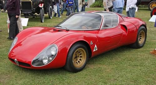 Coches para el recuerdo: Alfa Romeo 33 Stradale