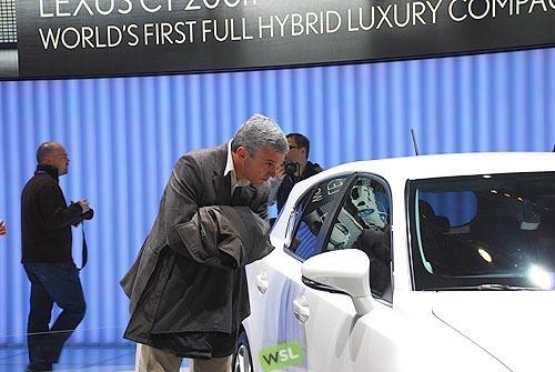 Foto de Embelezzia en la presentación mundial del Lexus CT 200h (8/24)