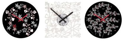 Rediseña tu tiempo con los relojes de Koziol
