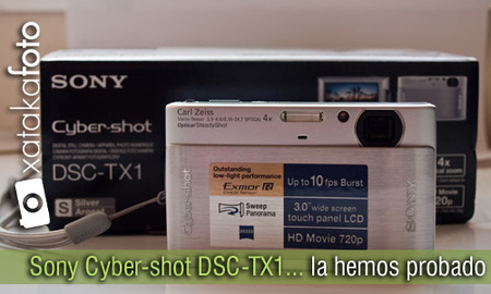 Sony Cyber-shot DSC-TX1, la hemos probado (I)