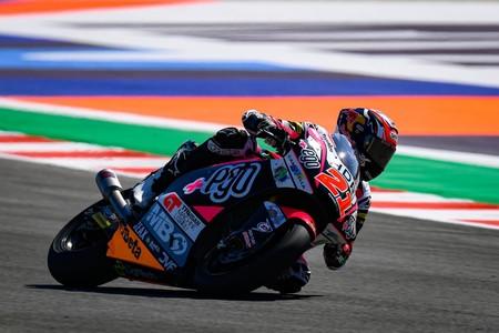 Fabio Di Giannantonio consigue su primera pole position en Moto2 con una gran vuelta en Misano