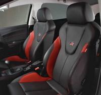 Asientos de cuero para el Seat León FR