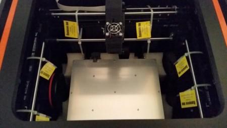 Protecciones de la impresora que debemos retirar antes de su puesta en funcionamiento
