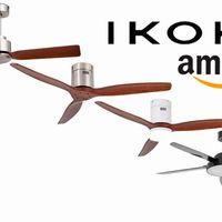Estos ventiladores de techo Ikohs con mando a distancia alcanzan su precio mínimo histórico en las ofertas del día de Amazon
