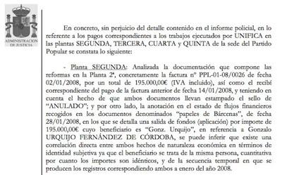 Sr. Montoro: las facturas de las obras de Génova ¿con IVA o sin IVA?