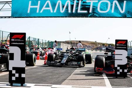 Hamilton Portugal F1 2020
