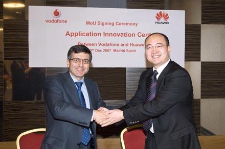 Vodafone y Huawei crean un centro de innovación en España