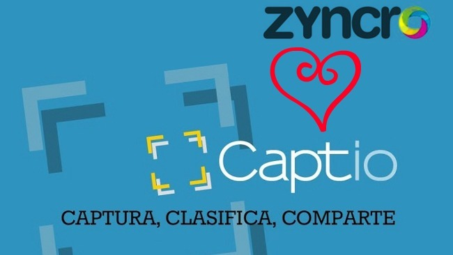 Zyncro se integra con Captio para tus notas de gastos no volvuelva a ser un problema