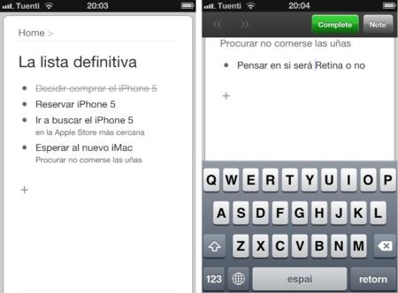 Workflowy: el gestor web de listas y tareas llega a iOS en forma de aplicación nativa