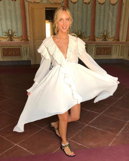 El vestido de pre-boda de Chiara Ferragni nos ha dejado sin palabras... Literal