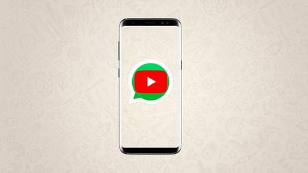Al fin podemos ver vídeos de YouTube sin salir de WhatsApp: la aplicación de mensajería ya integra al servicio de vídeo