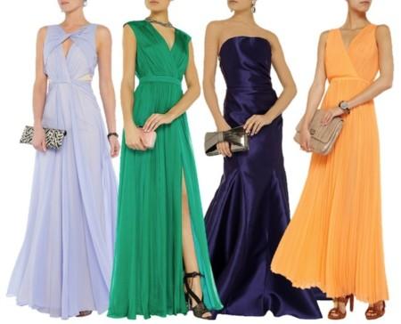 the outnet vestidos de fiesta