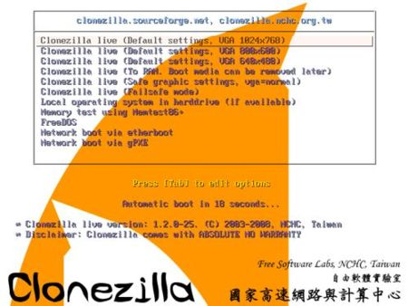 CloneZilla Live: clona tu disco o partición de forma gratuita