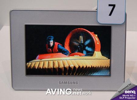 Marco de fotos digital Samsung SPF-72V