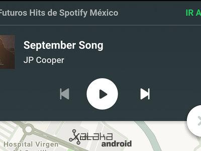 Cómo activar la integración de Waze y Spotify en Android
