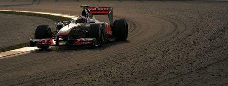 Los McLaren sufrieron un perdida de downforce no identificada en el Gran Premio de Corea