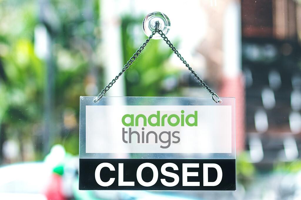 Google anuncia el cierre de Android Things, la versión para dispositivos IoT